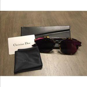 Dior Abstract Sunglasses Magenta